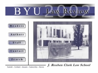BYU Law Review Screenshot